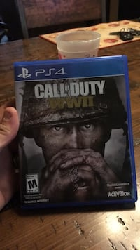 Call of Duty Ghosts PS4 game case Parma Heights, 44130