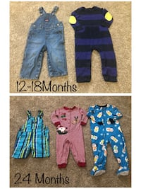Baby Boy Pijamas & overrals all for $10 Des Moines, 50314