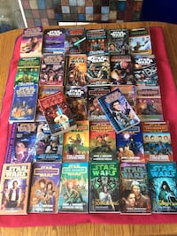 Star Wars Novels  ($1.99 ea. or $23.99 for all 16) Calgary, T3H 5T6