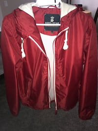 Red zip-up jacket Grande Prairie, T8V 5Z9