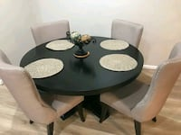 Round dining table with four chairs  Ashburn, 20148