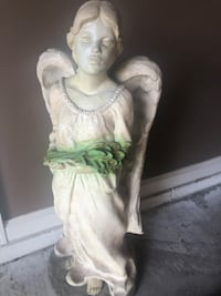Garden Angel—-28 inches high and about 10 inches wide. Lititz, 17543