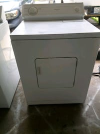 white front-load clothes washer Dallas, 75228