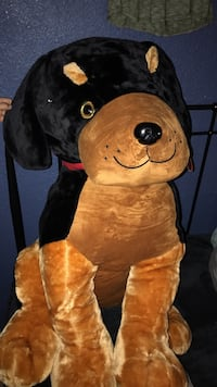 brown and black dog plush toy Thermal, 92274
