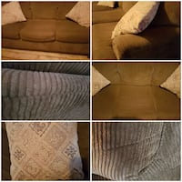 From heritage mint shape couch x2 accent pillows Marmora, K0K 2M0
