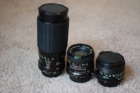 3 Working vintage Camera Lenses Chattanooga, 37405
