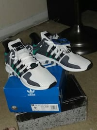 pair of black-and-white Adidas sneakers Bladensburg, 20710