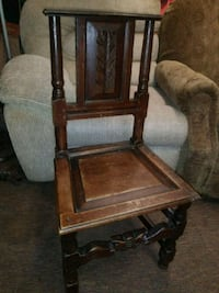 Antique solid wood chair late 1800s Huntington Beach, 92649