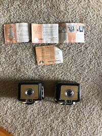 Kodak brownie bullet cameras lot of 2 Tested and work  Cockeysville, 21030