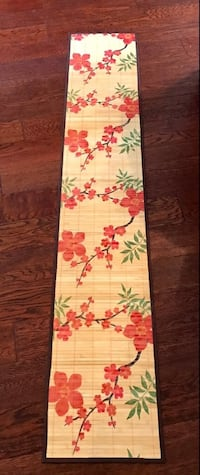 BAMBOO FLORAL TABLE RUNNER !!  Copperas Cove, 76522