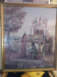 Excalibur Casino and Hotel King Arthur Themed Hotel Art