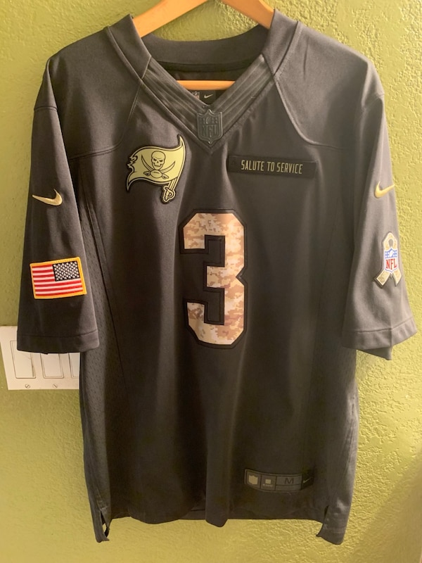 info for 7eae1 89712 Tampa Bay Buccaneers Jamie's Winston Salute to Service Jersey