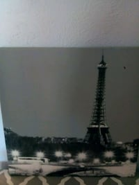 Cute black and white effile tower picture Scottsdale, 85257
