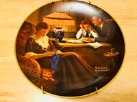 Decorative Norman Rockwell Ceramic Plate
