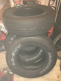 4 like New Ironman 255/70R17 tires Columbia, 21046