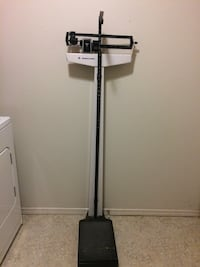 Old School Stand Up Weight/Height Scale Meridian, 83646