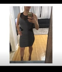 Sexy grey and black cut out dress  Hamilton, L8P 1X1