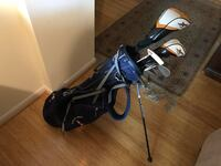 Golf set! Top of the line. Callaway X2 drivers, Ping i3 irons, Titleist Vokey 60 degree wedge and Sun Mountain golf bag Arlington, 22209
