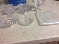 Candle holders, crystal and Partylite Woodbridge, 22192