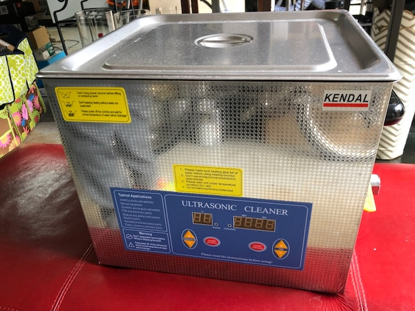 Kendal Commercial Grade Ultrasonic Cleaner with Powered Heater and Digital Timer for Parts Washer, 12 Liters 660 Watts 612DHT f42ad4c2-77df-464c-b274-422d6ee0d8b9