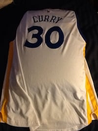 White and yellow stephen curry 30 golden state warriors basketball jersey top