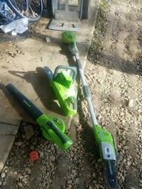 GREENWORKS Lithium Operated TOOL BUNDLE  Fairfax, 22031