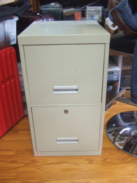 used deep 2 drawer steel file cabinet 5789 for sale in mississauga rh gb letgo com