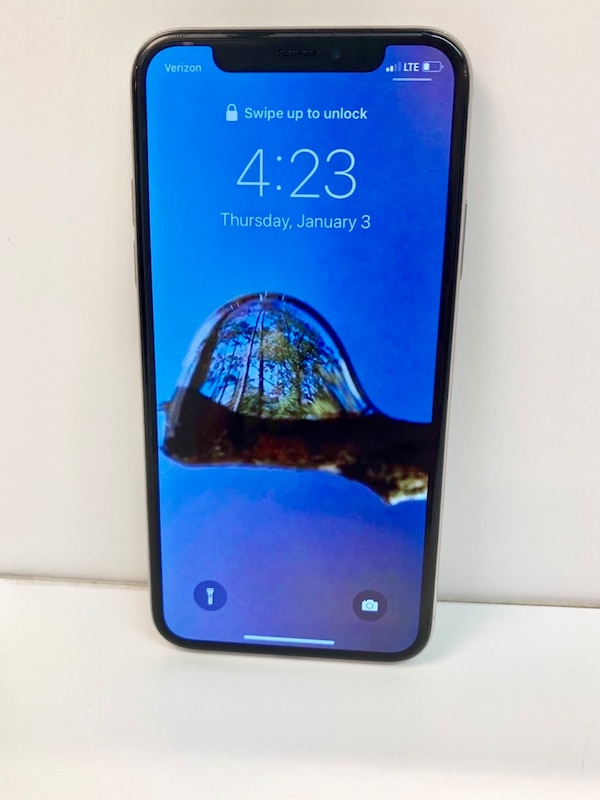 256 gb iphone x (verizon)