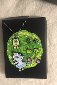 Rick and morty jewellery