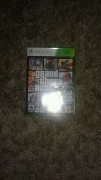 Grand Theft Auto Five Xbox 360 game case Gatineau, J8T 6A9