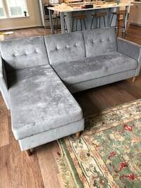 Grey sleeper couch Frederick, 21704