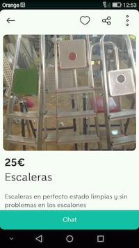 Pack de Escaleras  6128 km