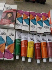 Hair dye color crave LOT Edmonton, T6H 5J2
