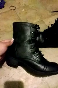 Woman's size 8 combat boots Eagle Lake, 33839