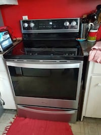 black and gray induction range oven Mississauga, L5A