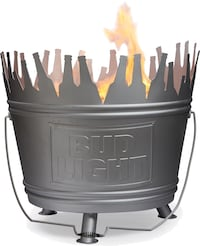 Giant Fire Pit / Grill (beer bucket cooler style) BRAND NEW!