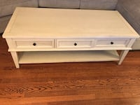 New White Wood Coffee table Alexandria, 22305