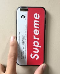 Bootleg Supreme x MetroCard iPhone 6 Case Surrey, V3S