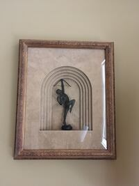 Three dimensional gold painting LIKE NEW