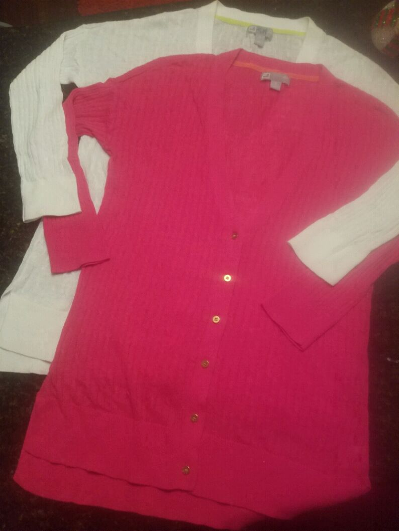 Photo 2 J.C. Pennys Cardigan Sweaters/ Small & Med. for the price of one