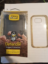 Brand new S6 otter box and throw in softcover for s6 Winnipeg Beach