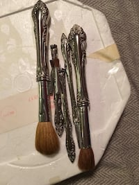 Stainless steel makeup brush set Halifax, B2W 0A3