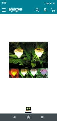 8 still in package solar powered garden roses  decorative lights     Youngstown, 44502