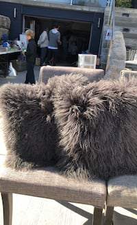 "Mongolian sheep 21"" pillows  Toronto, M4L 3A5"