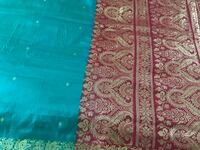 BEAUTIFUL SILK FABRIC FROM INDIA. MEASURES 9' long x 6' wise   Potomac, 20854