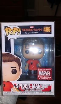 Spider-Man (Borrowed Jersey) Funko Pop limited edition