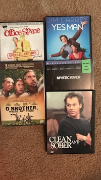DVD movie collection