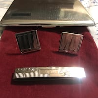 Antique CuffLinks,Tie Clip & Case Virginia Beach, 23462