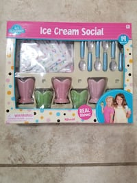 Toys Real Dishes Ice Cream Social  Independence, 64056
