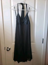 Short formal ladies black dress